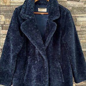 Michael Kors Women's Faux Fur Sherpa Coat